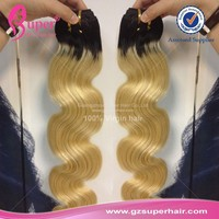 Charming hair extension, colored cambodian hair weave, ombre color jumbo braiding hair