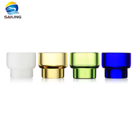Sailing Ecigarette Pure Glass Drip Tips 810 Thread for Kennedy 24 Goon Battle