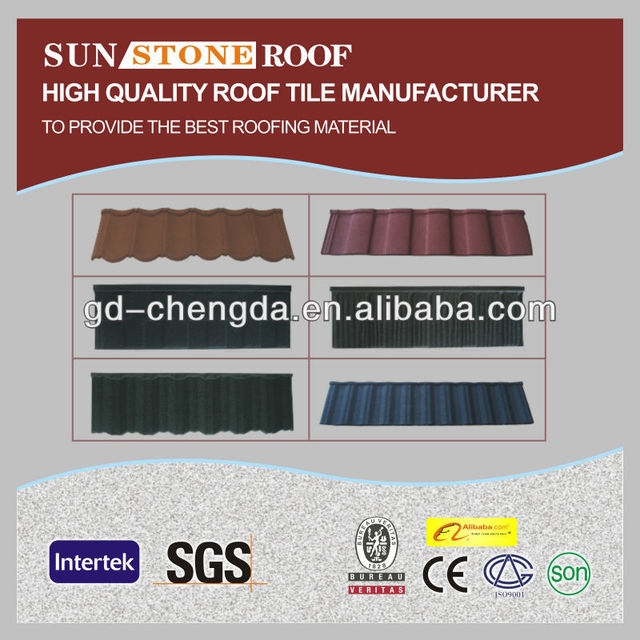 Best Manufacturer Stone Steel Roofing Panel/Classic Tyle