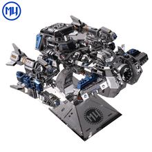 MU Starcraft 3D Metal puzzle Battle Cruiser Yamato gun Model DIY Metal Jigsaw Puzzle Model Toys for Adults Gift