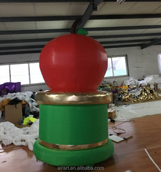 The fruit art festival decorates customize giant inflatable apple