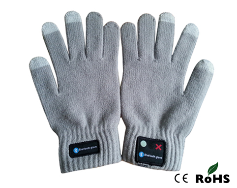 Vibrating handsfree Talking bluetooth gloves