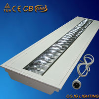 recessed parabolic lighting louver,grille lamp lighting fixture