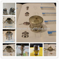 TOP-QUALITY stainless steel hydraulic quick couplings for irrigation
