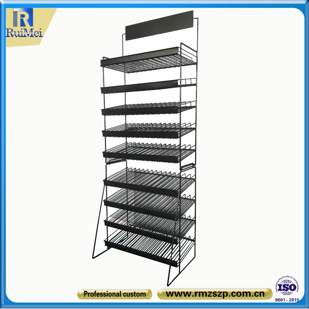 Pratical Multi-tier Metal Paint Display Stand