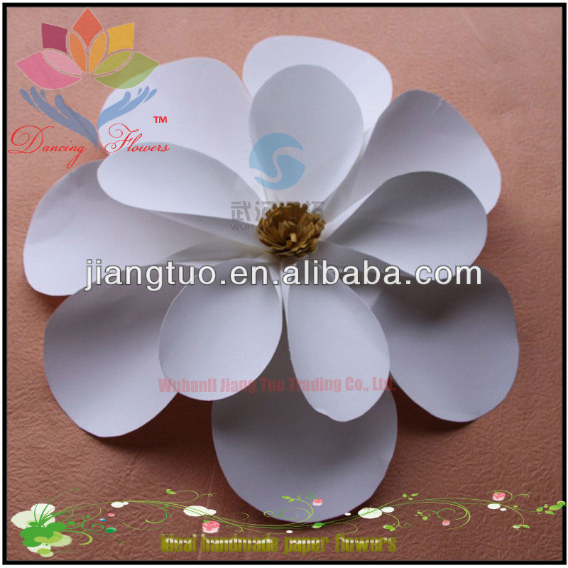 Fashion handmade music dancing flower