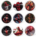 2017 Custom Marvel Deadpool Tin Badges