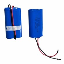 Customized Li-ion Rechargeable 7.4V 3400mAh 2S1P 18650 battery pack for medical equipment