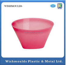big size Melamine innocuity Tableware recycled plastic bowls custom-made injection molding plastic products making