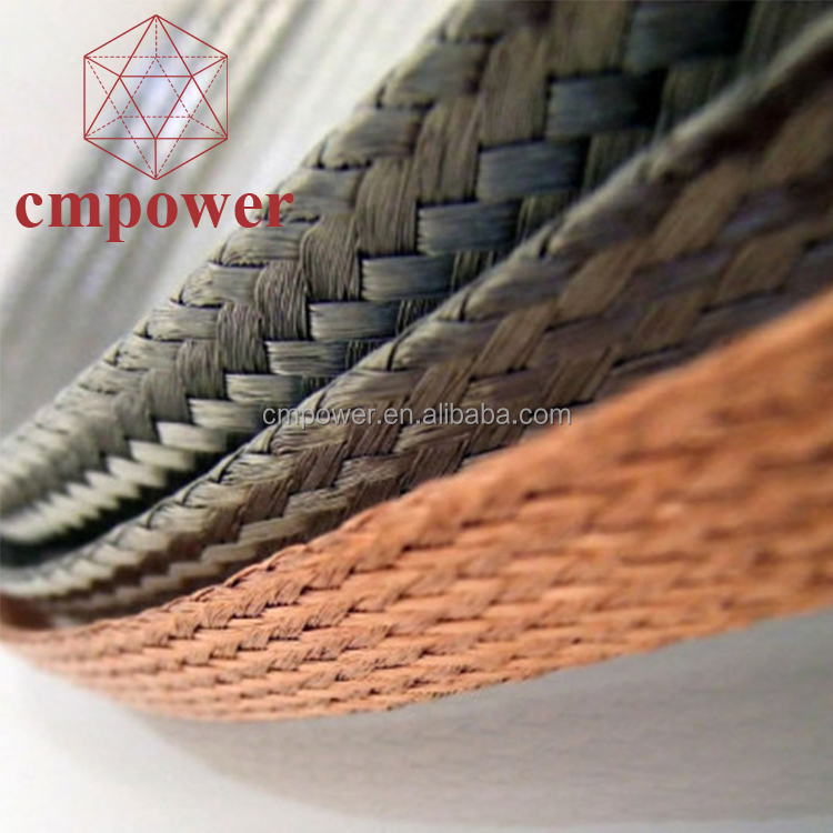 Wholesale Cheap Flat Copper Braided Electrical Flexible Cable <strong>Wire</strong> 10mm
