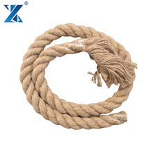 Low price Jute fiber material twisted rope