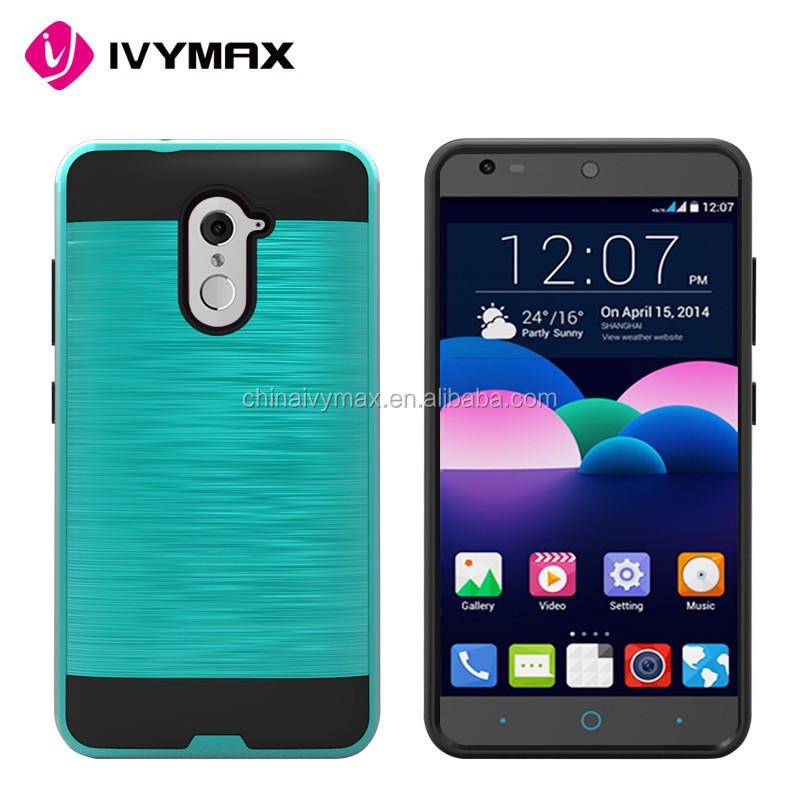 Korea deign hot selling brushed back pc phone case for ZTE Imprial Max/Kirk/Z988/Z963U