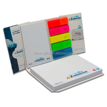 innovatived sticky note and page marker with sliding cover