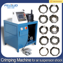 High quality air suspension hydraulic crimping machine