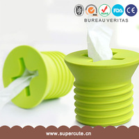 high quality screw design paper tissue roll case