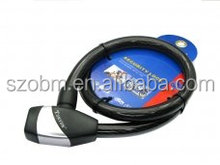 Good quality ,Durable and cheap Tonyon Bicycle Anti Shear cable Bike Lock (TY481E) SKU#2575