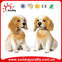 custom polyresin lovely dog sex cartoon toy