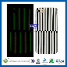 C&T Fashion UK noctilucent custom hard phone cases for iphone 5