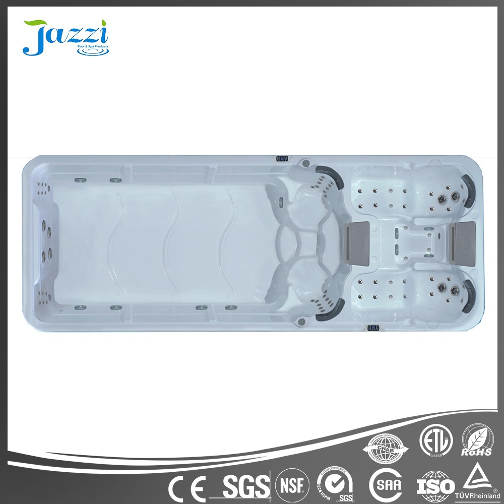 JAZZI High Quality Acrylic Outdoorspa Hot Tub ,Freestanding Swimming Pools Spa and Swimming Exercise SKT339A