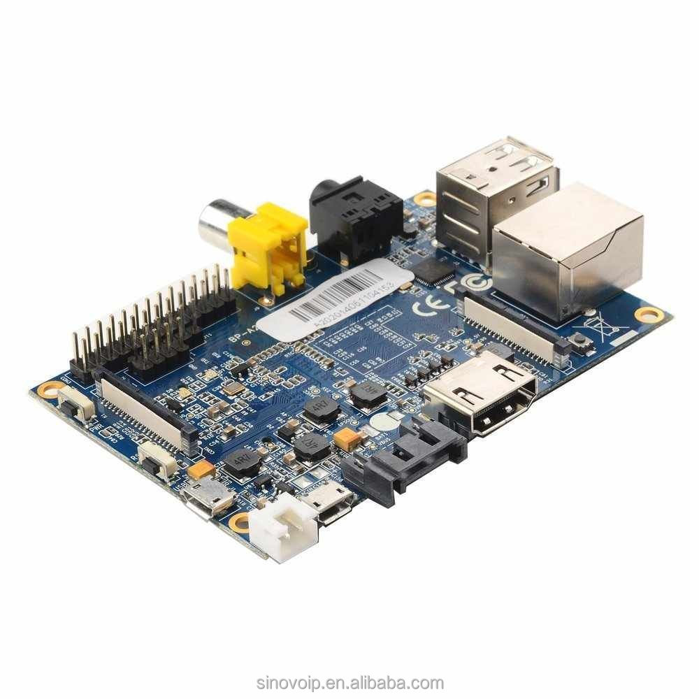 CSI camera and sata socket supported banana pi M1development board raspberry pi