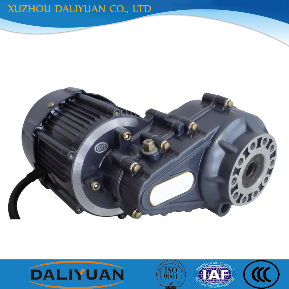 mini gas motor scooter bldc servo geared motor for tricycle 500w