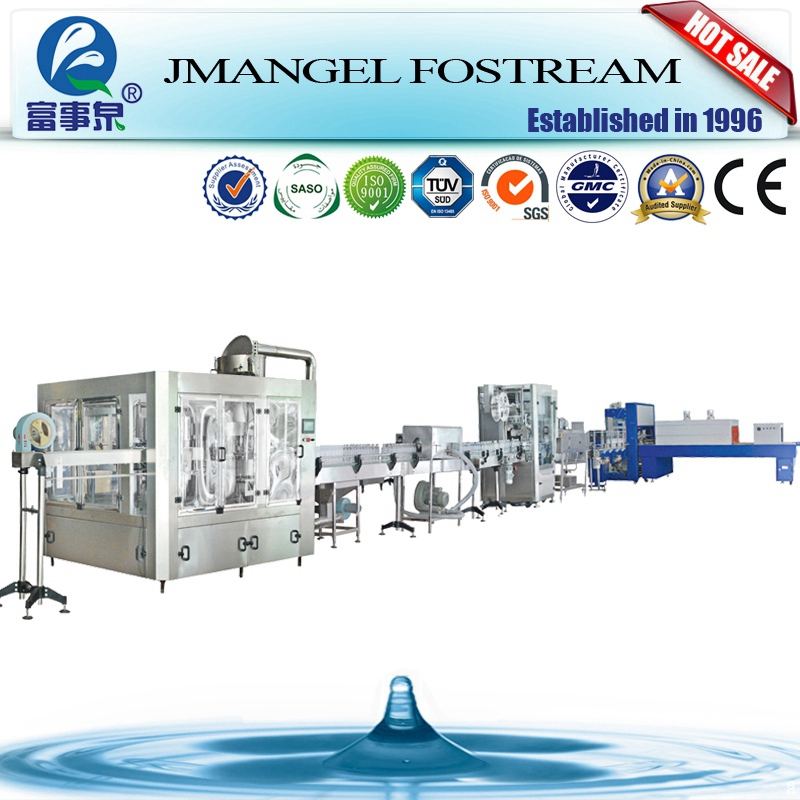 China alibaba ISO standard stainless steel ro water filling plant