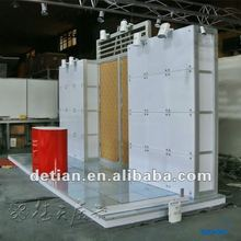 China acrylic advertising display exhibition booth 10x20 to export abroad from shanghai factory 03