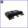 unitary type rubber track shoe for Vogele S1700 1800 2100 etc