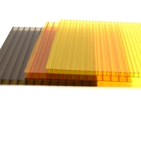 Hot Sale flexible plastic sheet 1 mm thick double layer sheets glass solar panel for sale