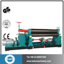 3 roller plate bending machine small plate rolling machine