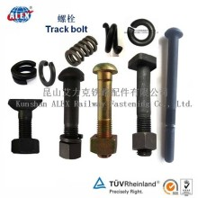 High Strength Square Head Track Bolt for Railway Fastening System