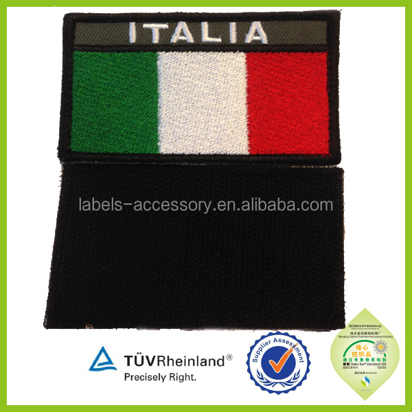 hot sale various countries flags embroidery military airline uniform accessories insignia patches badges