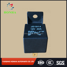 Unversal type Auto relay 12v 40amp with 5 pins and diode for car jd1914 relay