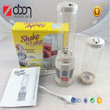 Multi-fonction shake n take mini juicer/ juice extractor/as seen on tv 2016