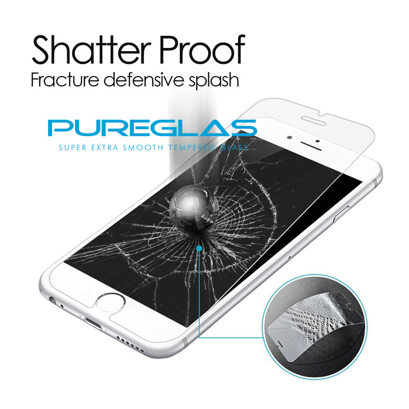 Import Material Reinforce Film Nano Tempered Glass Screen Protector For Iphone 7 / 7 plus