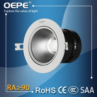 Wholesale Price 110 Volt Spotlight Led Aluminum Housing 15 Degree Beam Angle Cob 10W Led Spotlight Lamp For Jewelry Shop