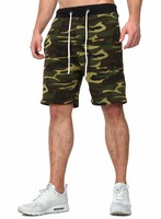 comfortable men shorts cargo printed cargo men camouflage color shorts