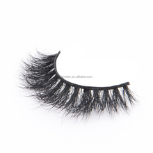 High feedback 3D real siberian mink fur eyelash extensions with custom magnetic boxes