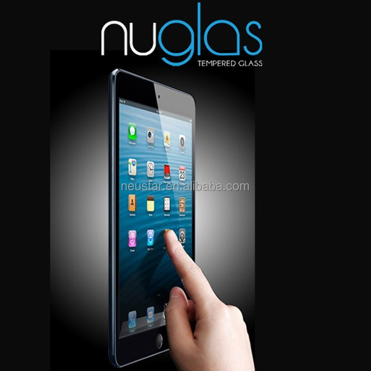 Hot new products color tempered glass screen protector for ipad 2 3 4