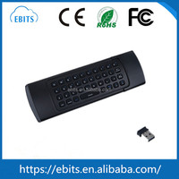 Top quality wholesale MX3 fly air mouse 3-IN-1 combo 2.4GHz wireless keyboard