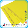 Customized A4 size Packaging List Envelope with gold foil