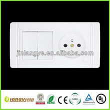 color electrical sockets and switches (LYS2-1(HF))