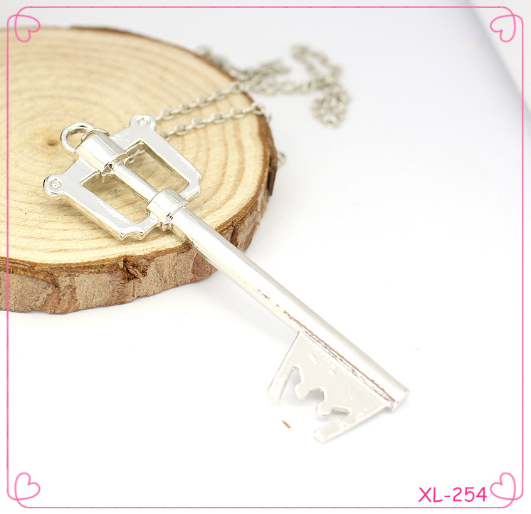 long chain Fashion High Quality Vintage Key lock Necklace
