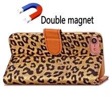 Leopard Leather Case for iphone 7 ,for IPhone 7Covers,Case for IPhone 7