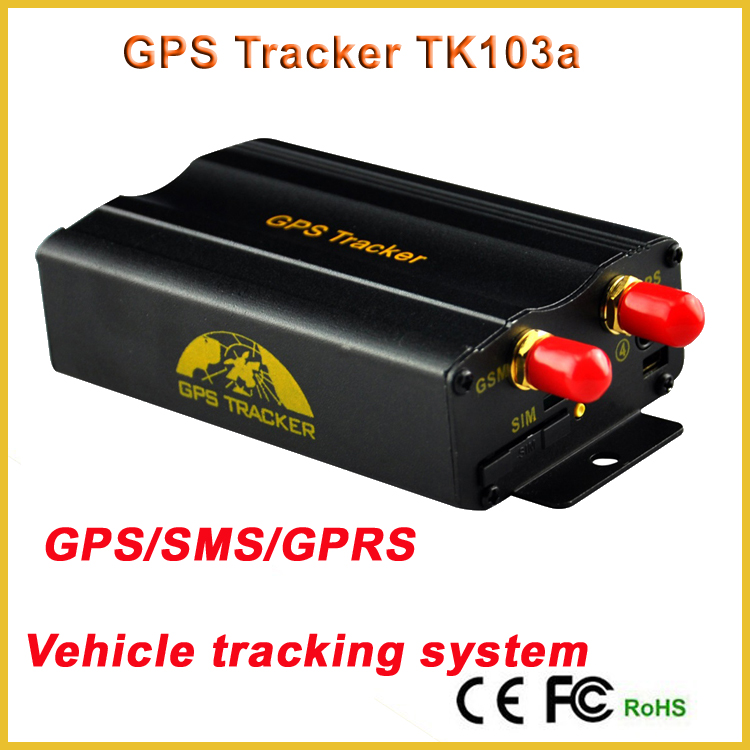 TK103B Tracker TK103A GPS vehicle Tracker engine immobilizer gps car tracker SMS/GPRS