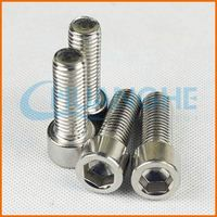 High quality fasteners titanium bicycle sprocket nuts m10 x 1.25 screws bolts