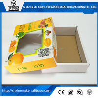 Whole Sale Fruit Carton Box With Window
