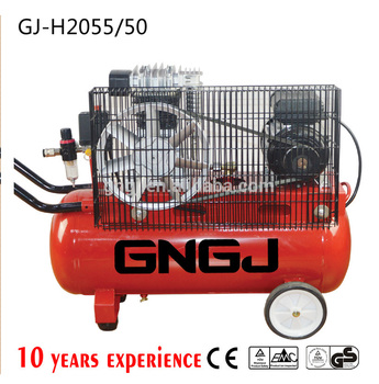2hp 8bar Italy type industrial belt piston air compressor
