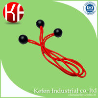 rubber elastic cord with plastic ball