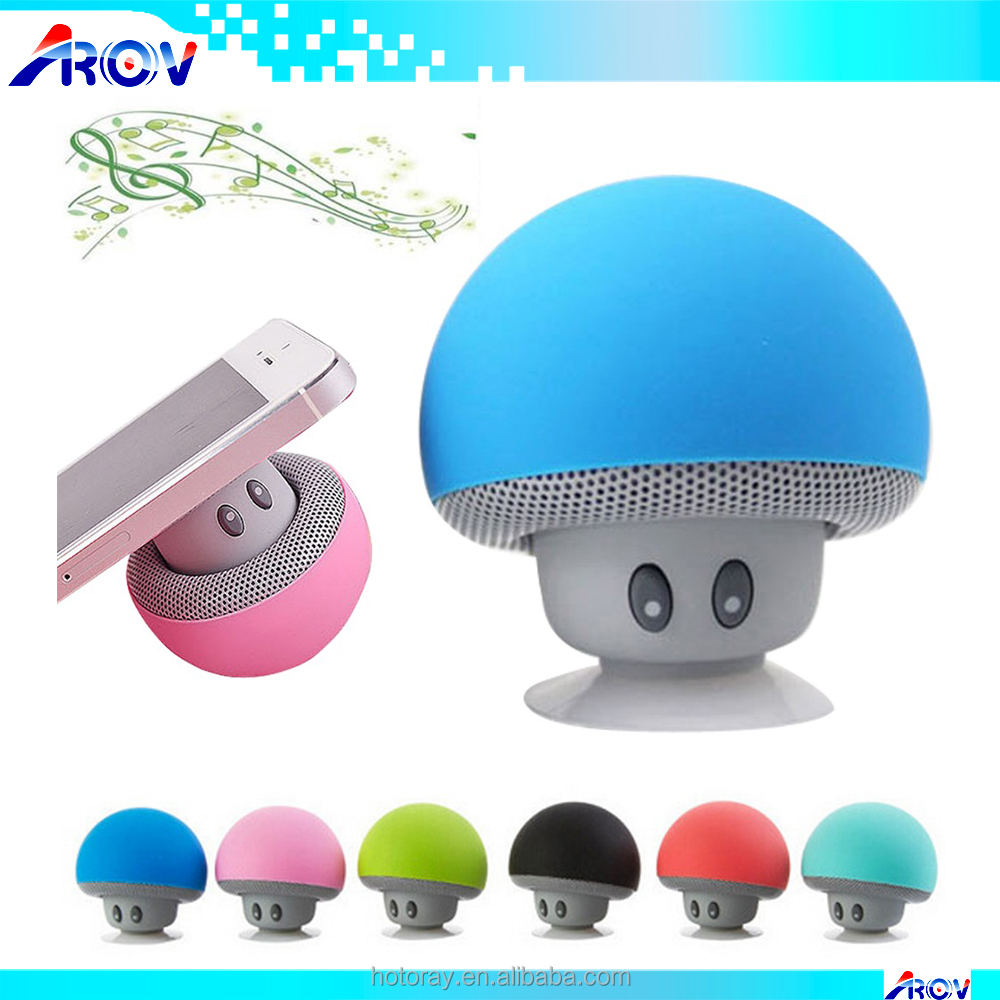 Wireless Bluetooth Speaker Portable Mini Speakers Mushroom Waterproof Bass Stereo Speaker With Mic For Mobile Phone Computer